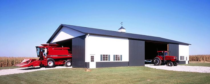 45 best images about machine storage buildings on for Pole barn equipment shed