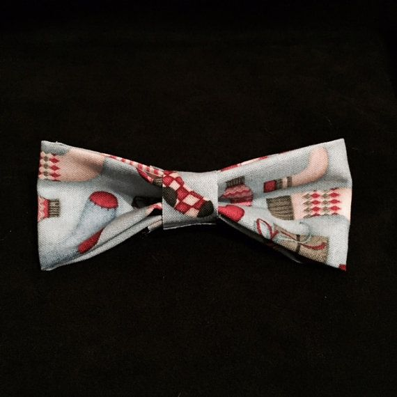 Classic stocking bow tie, now ON SALE %50 off all christmas stock! Just $5.00!