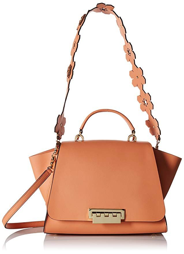 1c236a4c4828 ZAC Zac Posen Eartha Iconic Soft Top Handle Hex Floral Strap Coral ...