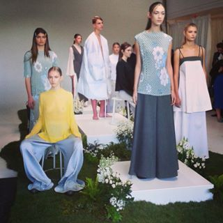 #LucillaGray spring-summer collection#auckland fashion week