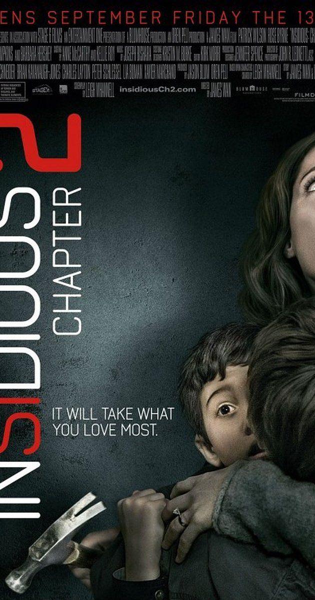 Insidious Chapter 2 2013 Insidious Movie Insidious Horror Movie Posters