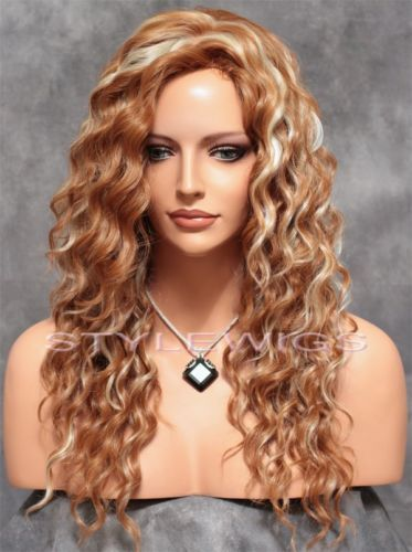 Real Hair Wigs Strawberry Blonde