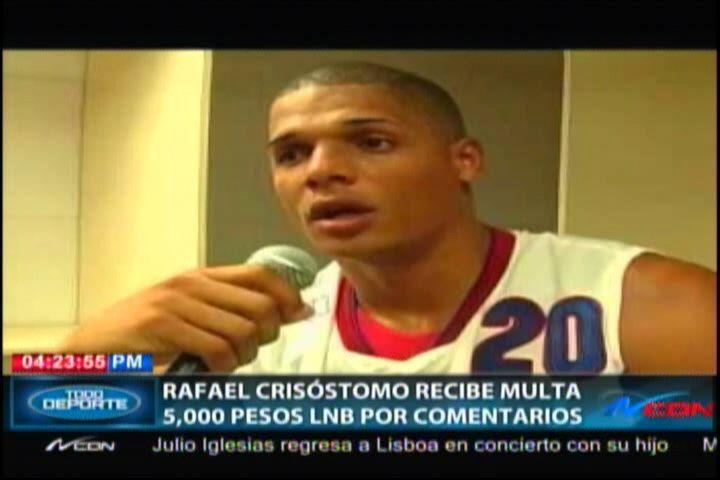 Ponen Multa De 5,000 Pesos A Jugador De La Liga Nacional De Baloncesto Por Comentario En Redes Sociales #Video