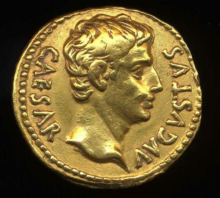 Did you know The Romans were the first to stamp the image of a living person (Julius Caesar) on a #coin.