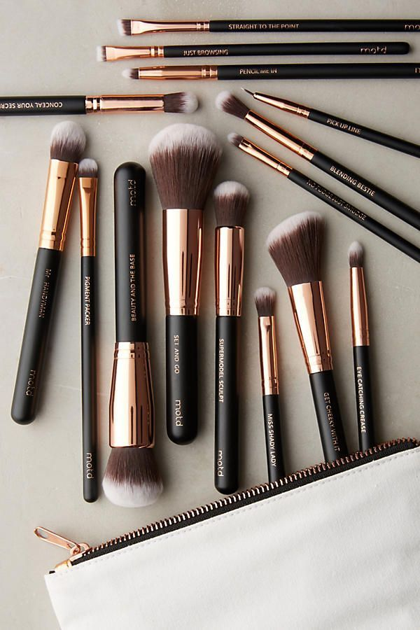 M.O.T.D. Lux Vegan Makeup Brush Set