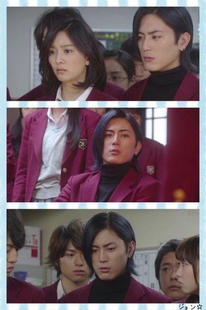 """Shotaro Mamiya, J drama """"Gakkou no kaidan(School's Staircase)"""", 2015"""