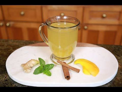 Tea to Boost Metabolism, Reduce Bloating, and Boost Immune System - YouTube