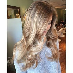 Smooth Dark Blonde Curls