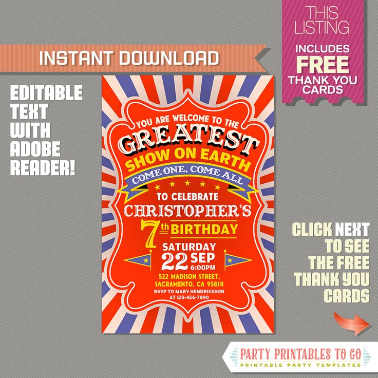 85 best Birthday Invitations images on Pinterest | Birthday ...