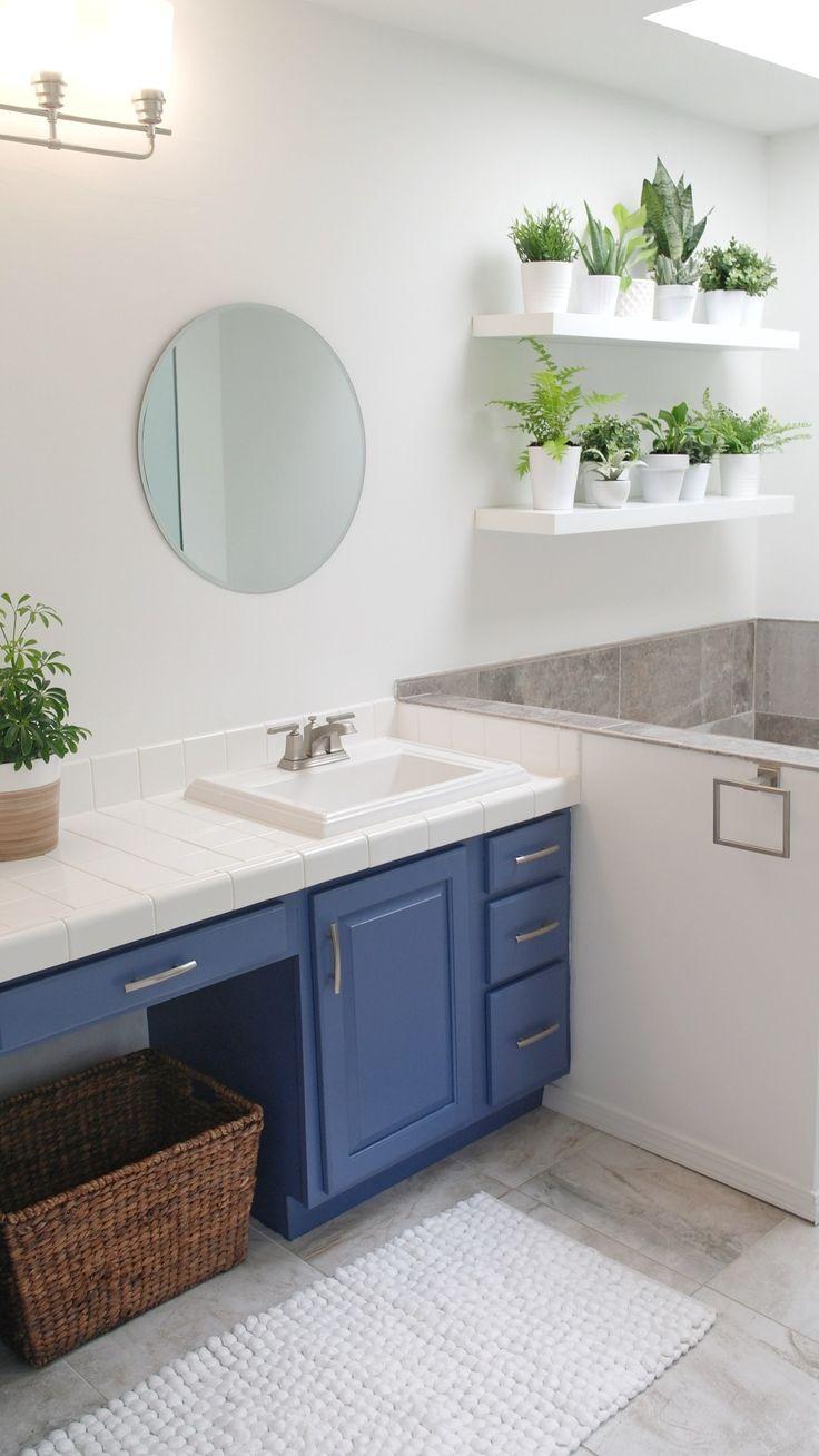best modern neutral paint colors  master bathroom update
