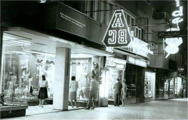 1970 ler ABC mağazası