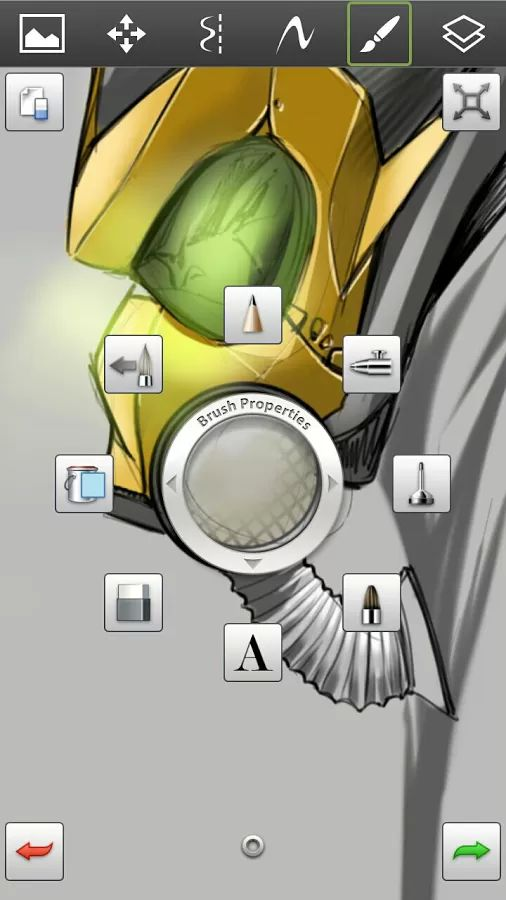 """SketchBook Mobile v2.0.4 Requirements: Android 2.2 and up Overview: Autodesk SketchBook Mobile is a professional-grade paint and drawing application designed for android devices with screen sizes of 7"""" and under."""