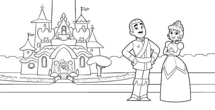 King Dad And Queen Mom Coloring Page From Nella The Princess Knight Mom Coloring Pages Princess Coloring Pages Coloring Pages