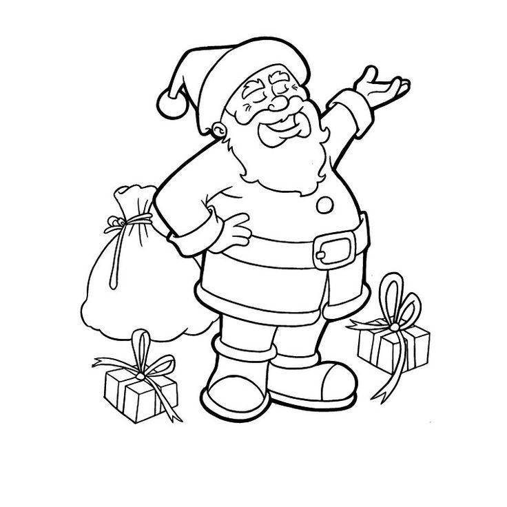 dessins pour papa noel à colorier - Google Search   Coloriage, Coloriage joyeux noël, Coloriage noel