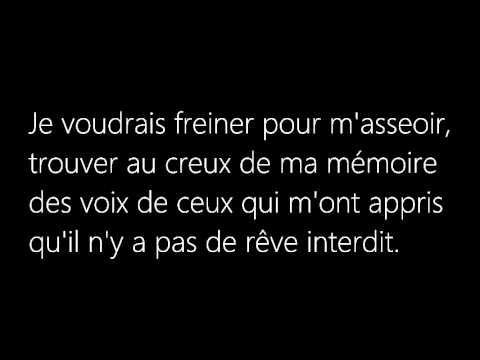 Céline Dion - Parler à mon Père (LYRICS-PAROLE) - via you tube