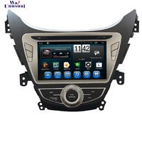Pure Android 4.4 8 inch Car Radio for Hyundai Elantra 2011-2012/ for AVANTE 2011/ I35 2011 with Quad Core 16G 800*480