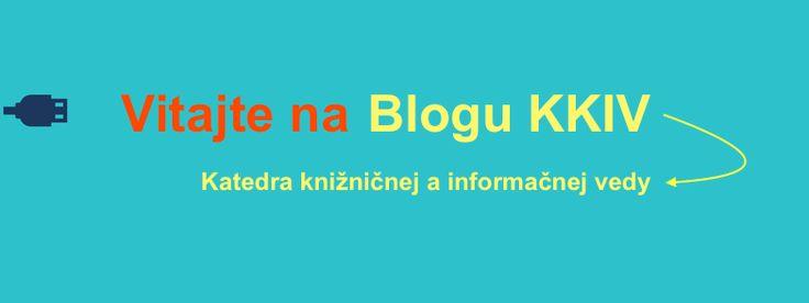 Blog Katedry knižnično-informačnej vedy