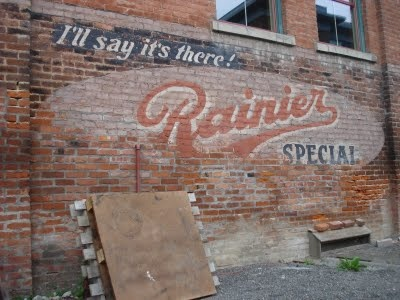 52 best images about brick wall advertising on pinterest for Distressed brick wall mural