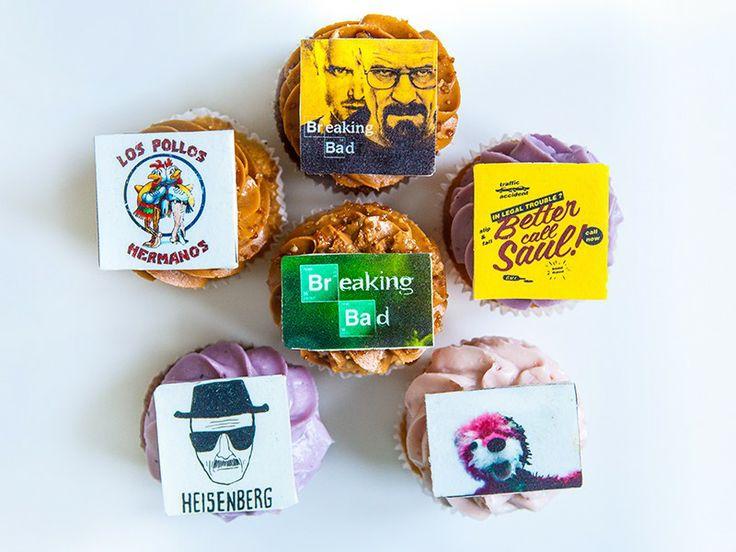 "Капкейки ""Во Все Тяжкие"" (""Breaking Bad"" cupcakes) - Выпечка на заказ"