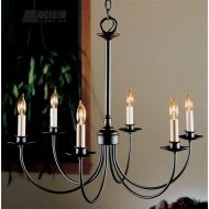 Hubbardton Forge 107060 - Simple Lines Transitional Candle Chandelier HF-107060