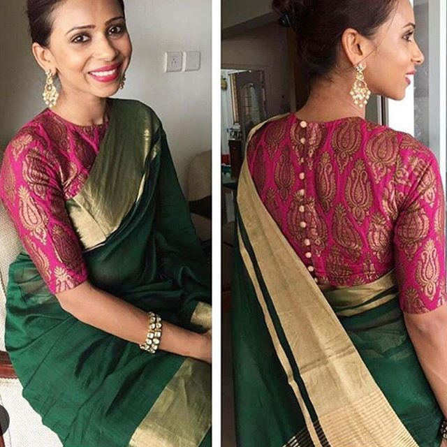 Green tissue Saree with pink brocade blouse To purchase this product mail us at houseof2@live.com  or whatsapp us on +919833411702 for further detail #sari #saree #sarees #sareeday #sareelove #sequin #silver #traditional #ThePhotoDiary #traditionalwear #india #indian #instagood #indianwear #indooutfits #lacenet #fashion #fashion #fashionblogger #print #houseof2 #indianbride #indianwedding #indianfashion #bride #indianfashionblogger #indianstyle #indianfashion #banarasi #banarasisaree