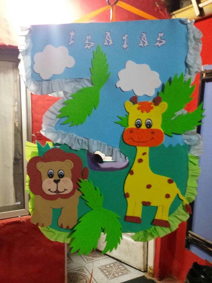 Piñata animales de la selva¡¡
