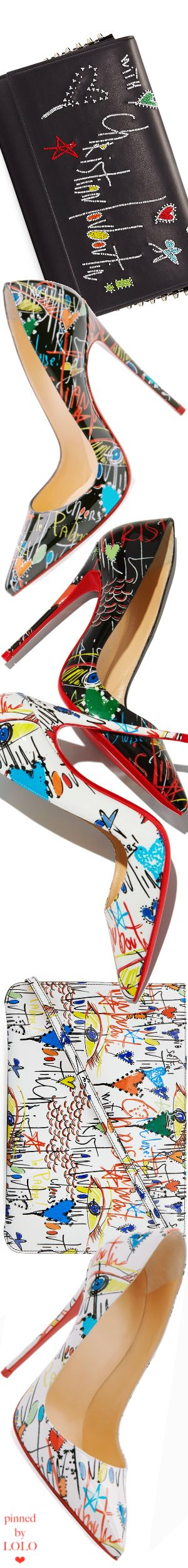 Christian Louboutin So Kate Loubitag Red Sole Pump and Handbags