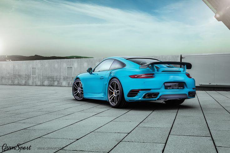 Porsche 911 również może wyróżniać się na ulicy   Wystarczy do tego odpowiedni kolor oraz skrojony na miarę pakiet modyfikacji TechArt! Kompletny zestaw aerodynamiczny oraz nowe wzory felg to gwarancja niesamowitej odmiany legendarnej 911 - tak jak w przypadku topowej wersji Turbo S ze zdjęcia   Oficjalny Dealer TECHART GranSport - Luxury Tuning & Concierge http://gransport.pl/index.php/techart.html