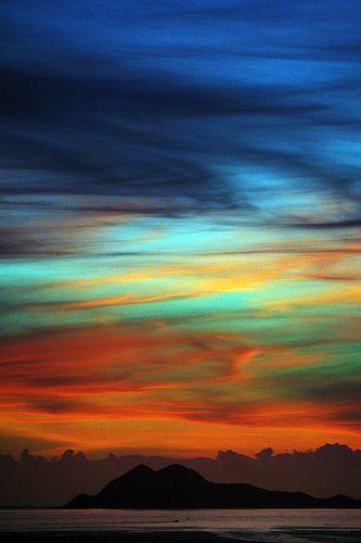 Isla Negra At Sunset | Chile | Photograph By A Garazo