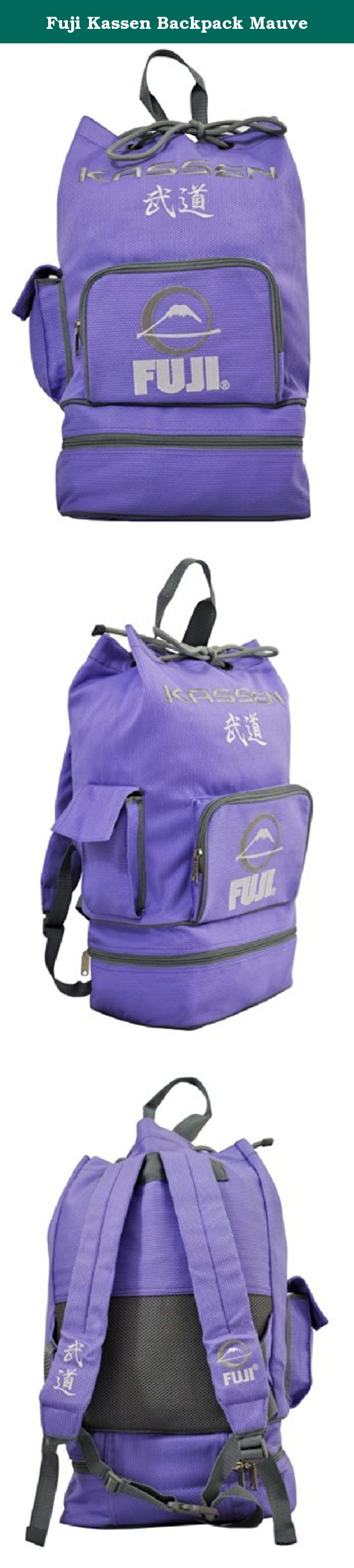 Fuji Kassen Backpack Mauve. The perfect bag to drop your gear in and go. Comes in smaller sizes for daily travel to the club and also great for kids.