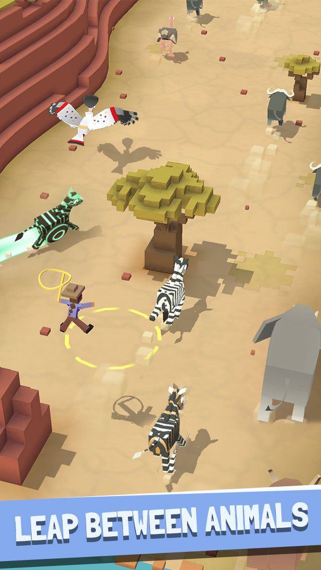 Rodeo Stampede - Sky Zoo Safari by Featherweight Games Pty Limited is now available on the App Store. Download http://ift.tt/28Y98Sn