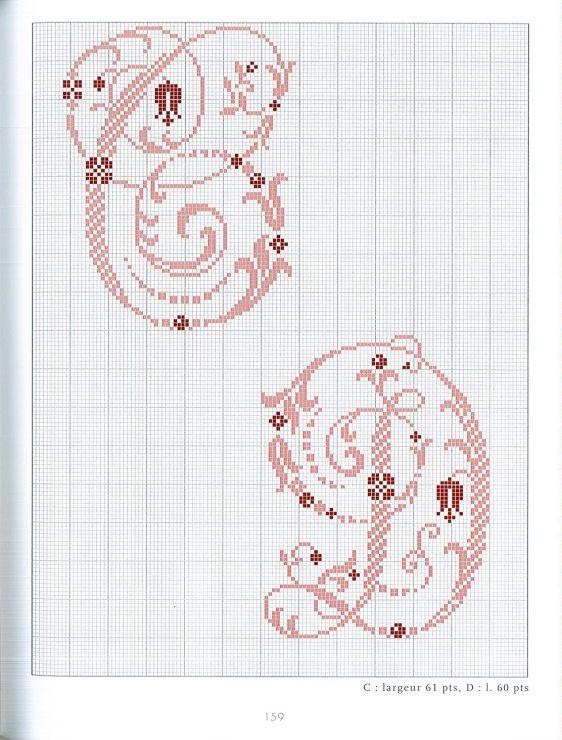 Fabuleux 425 best Абетки images on Pinterest | Cross stitch alphabet, Cross  OF48