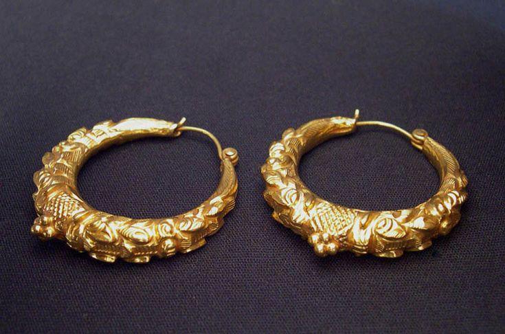 Makara Earrings