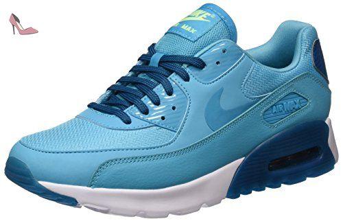 NIKE Air Max 90 Ultra Essential Da Lauchuhe, Chaussures de Running Femme, Bleu (Gamma Blau/Grün Abyss-Weiß), 40 EU - Chaussures nike (*Partner-Link)