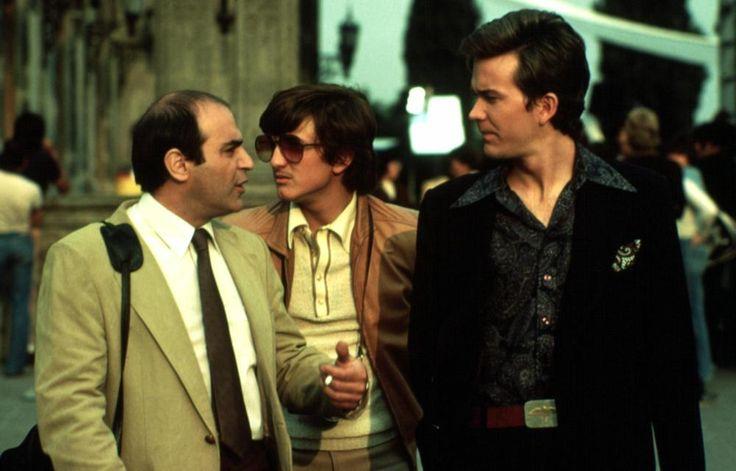 THE FALCON AND THE SNOWMAN,  David Suchet, Sean Penn, Timothy Hutton, 1984   Essential Film Stars, Sean Penn http://gay-themed-films.com/film-stars-sean-penn/
