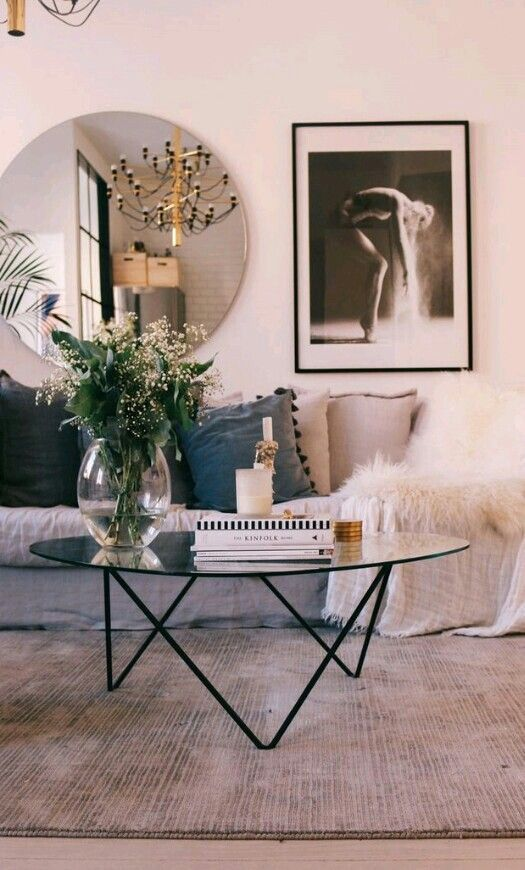 Gorgeous living room details