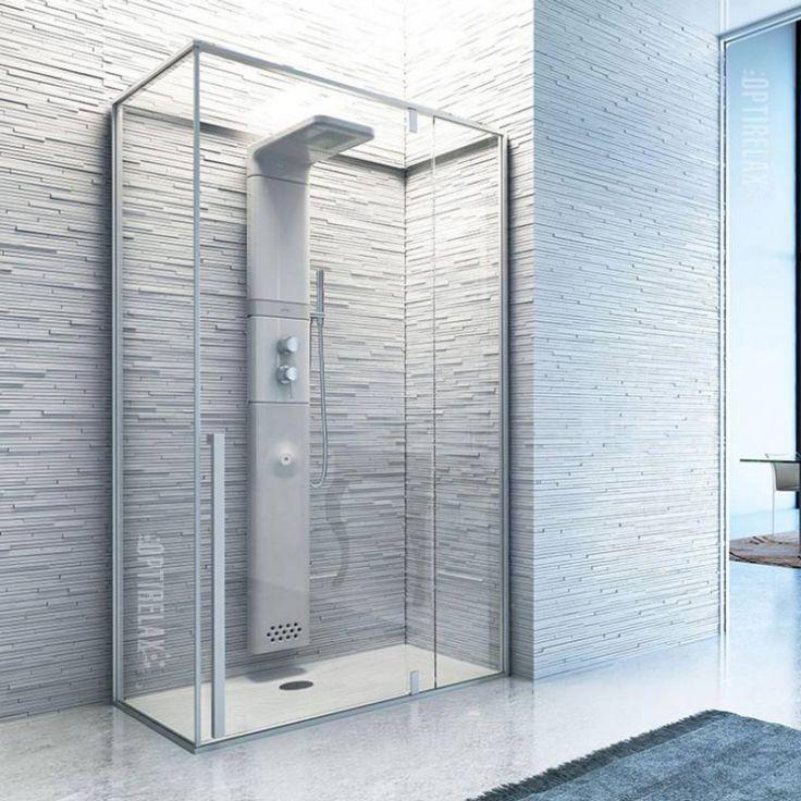 11 best dampfdusche images on pinterest bathrooms for Luxus shower doors