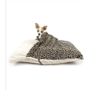 Pet Pocket Pillow Bed for Dogs -- so they too can sleep under the covers.
