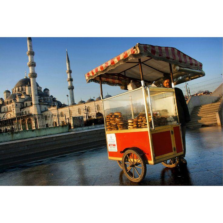 Vendeur ambulant à Istanbul