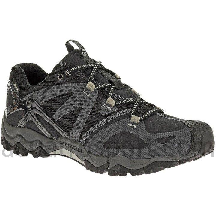 Zapatos grises Merrell Chameleon para hombre 2hKI00QH