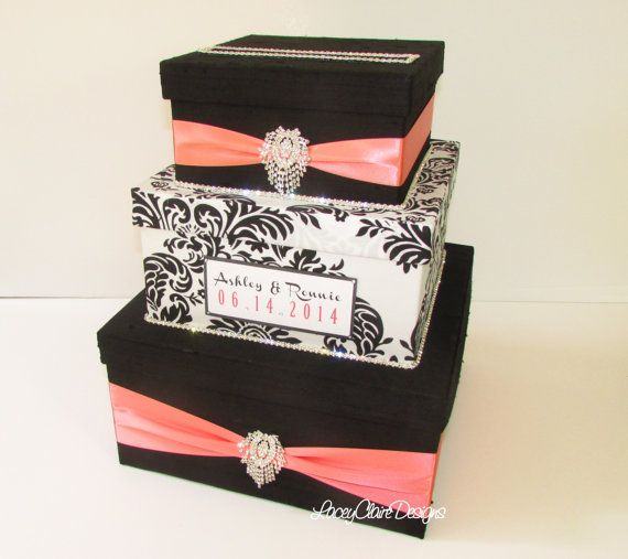 48 best i do card boxes images on pinterest wedding for Awesome money box