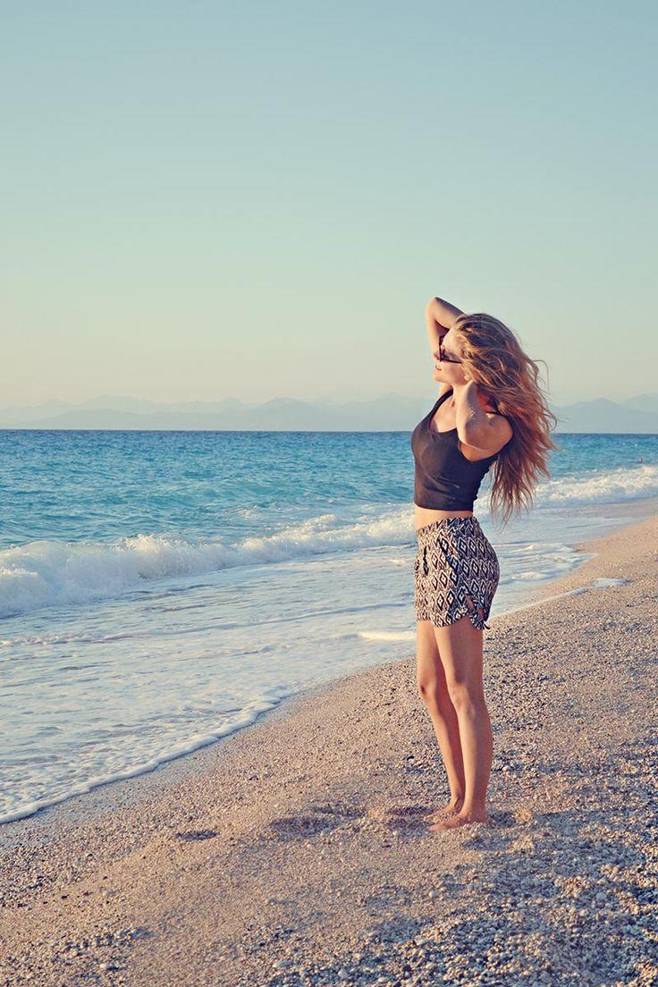 Enjoying a day at the sea with your super comfortable shorts <3 Badila SS15 SHOP > badila.gr