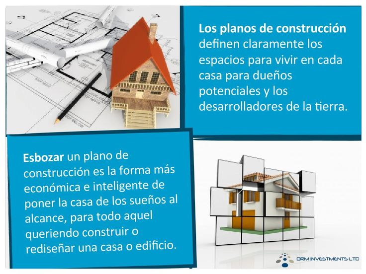 Los planos de construcción definen claramente los espacios para vivir en cada casa para dueños potenciales y los desarrolladores de la tierra.