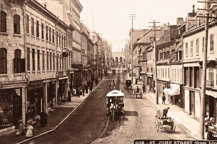 Quebec City, 1890