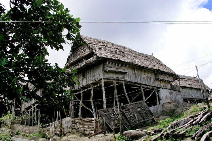 Původní dům v kopcích ostrova Selayar