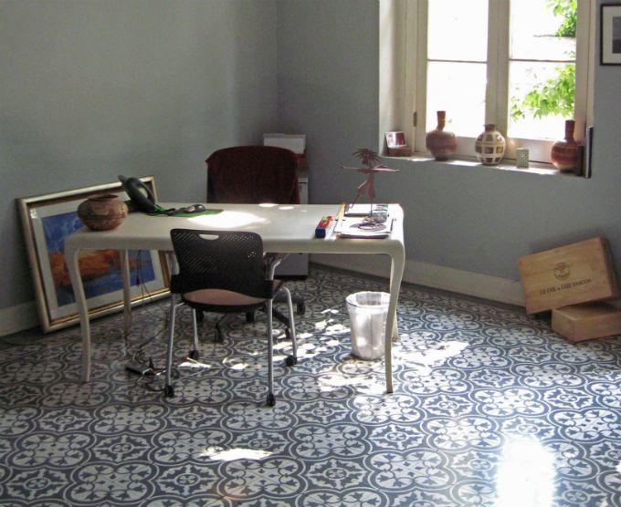 Un Rayito de Sol: pisos de mosaico.
