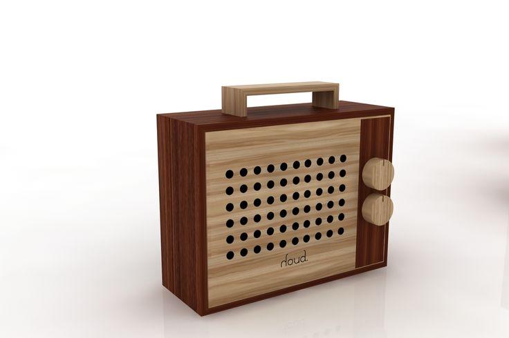 #radio #wood #portable #sound #houd  www.houdsound.com