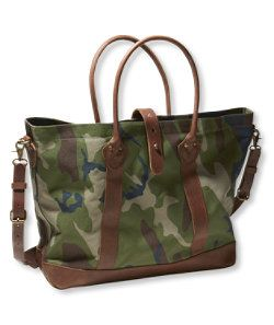 llbean signature west branch tote camo fashion pinterest shops branches and totes. Black Bedroom Furniture Sets. Home Design Ideas