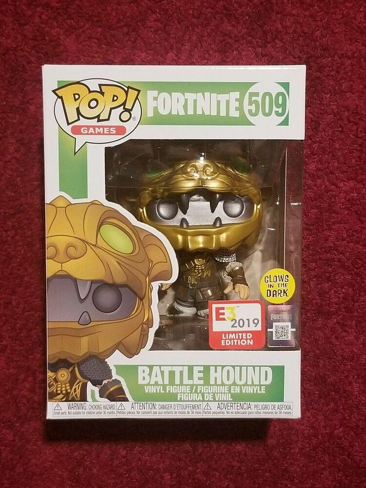 Funko Pop Games 509 Battle Hound Fortnite Glow in the