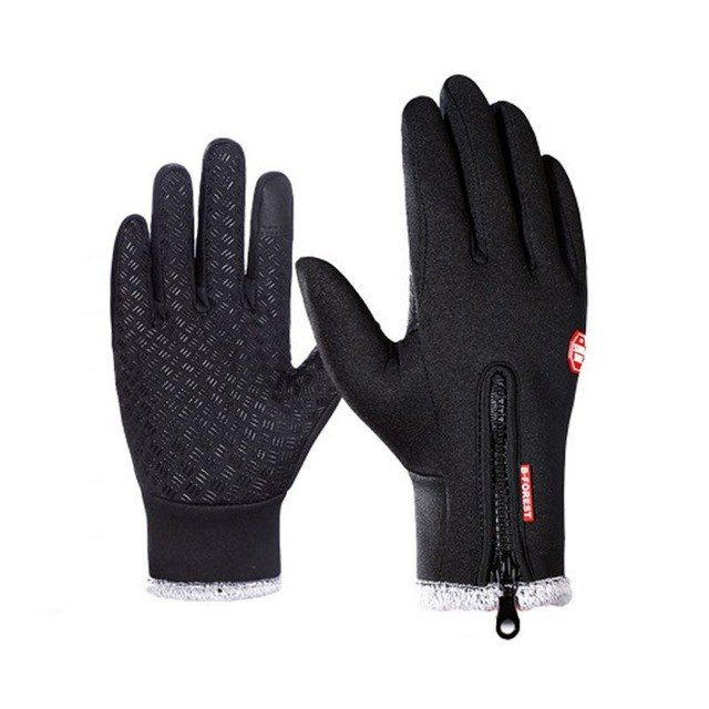 Thermal Warm Full Finger Waterproof Gloves Cycling Anti-Skid Touch Screen Cool